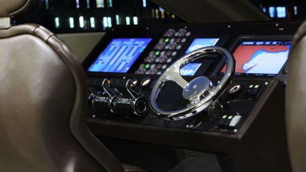 Otam 80 Millennium HT helm console