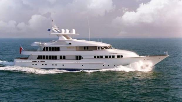 MY Iriquois - Image credit Moran Yacht & Ship