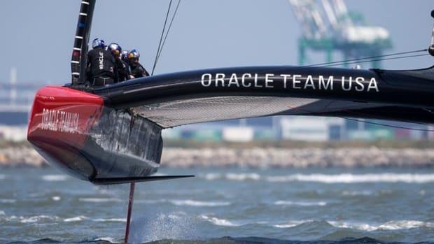 Boat 2 First Sail / SFO April Testing Session / ORACLE TEAM USA / San Francisco (USA) / 24-04-2013