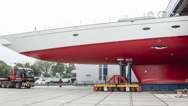 NEWS from Royal Huisman - Adèle completes upgrade by Huisfit
