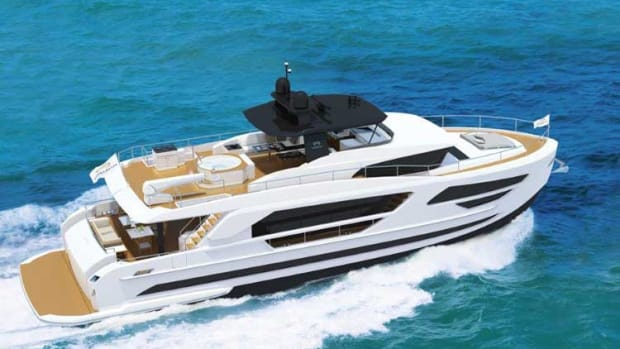 Horizon FD85 Fast Displacement motoryacht