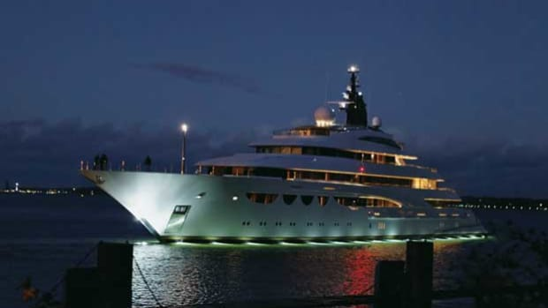 Lurssen's Quattroelle - Photo by Carl Groll