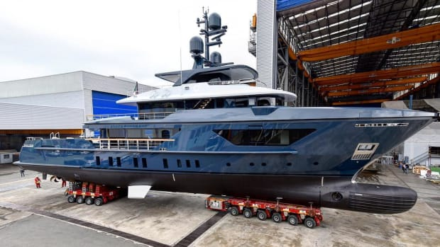 Sanlorenzo 460 EXP Hull #3