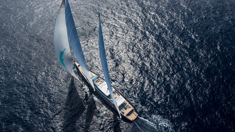 The Sailing Superyacht Reimagined