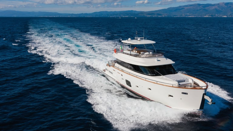 Going Places: Azimut 76 Magellano