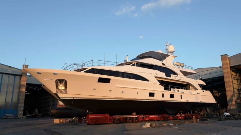 Benetti Classic 121 Launched