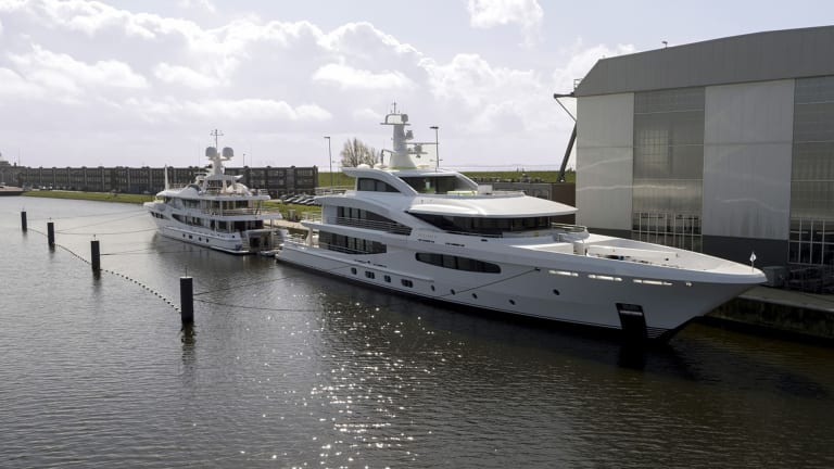 Amels Delivers World's First Tier III Superyacht