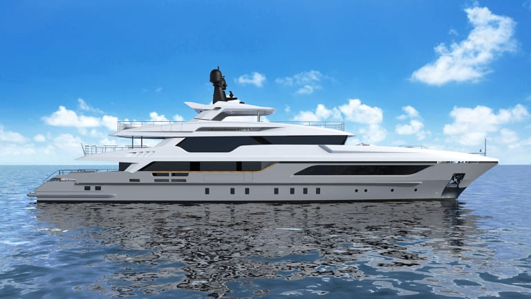 Baglietto's Latest 48m Hull Nearing Launch
