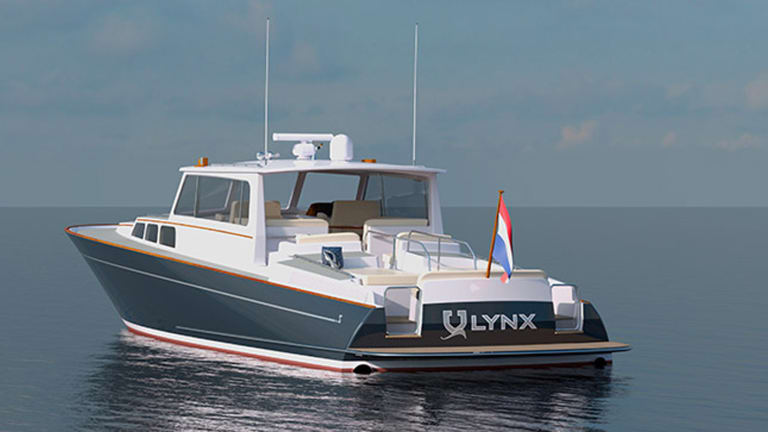 Zurn Yacht Design Announces 19m Lynx Commuter