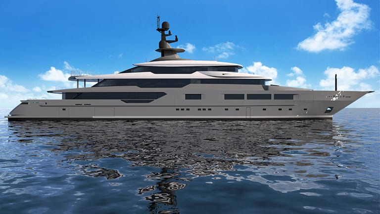 Tankoa's 72-meter M/Y Solo prepared to launch
