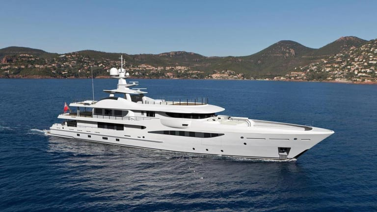 Amels 180 M/Y EJI Delivered