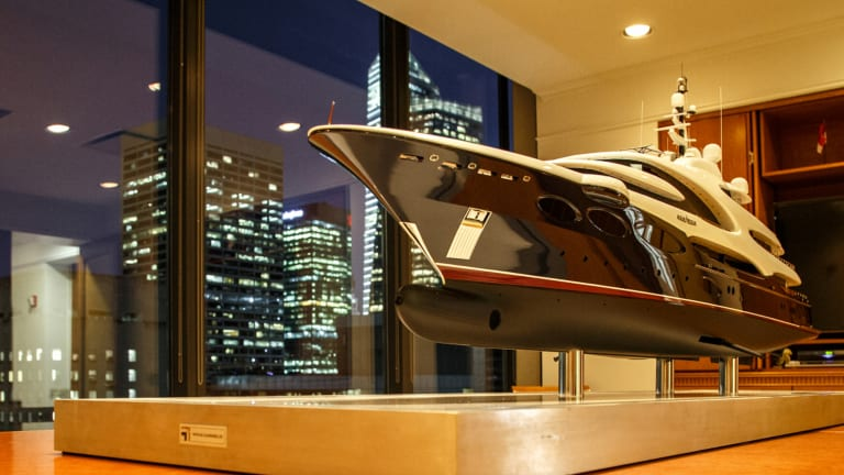 Art, Sculpture, Yachting  In The City
