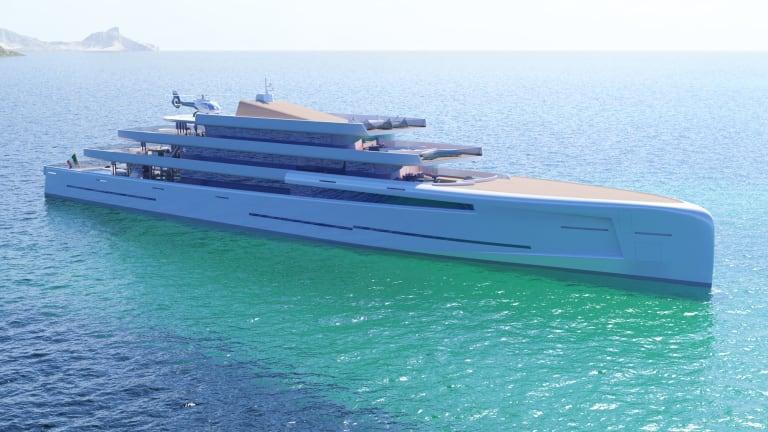 Fincantieri Unveils New 106m Concept