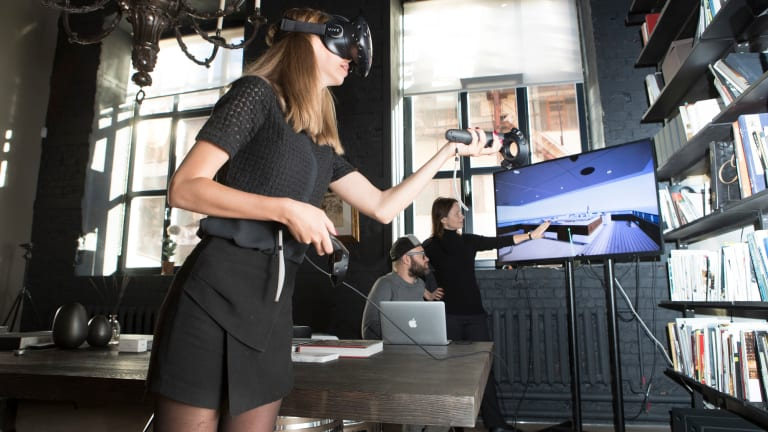 Designing Yachts with Virtual Reality