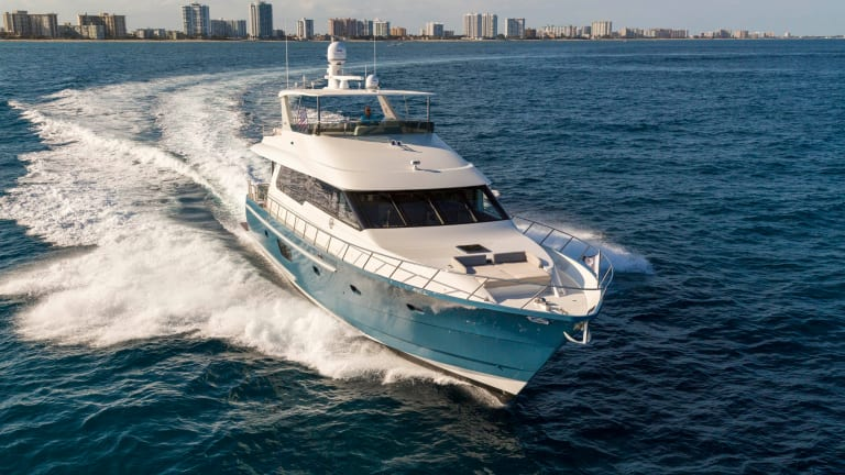 Cheoy Lee's Bravo 72 | Yacht Review
