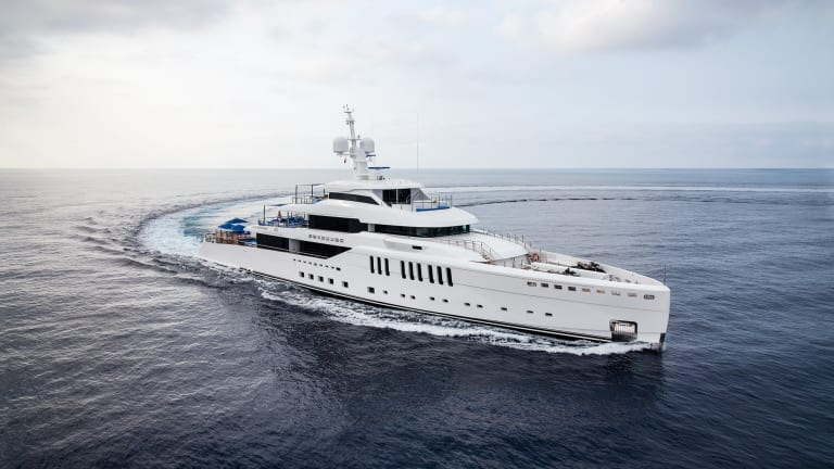 Benetti's 220-foot (67-meter) M/Y Seasense: A true expression of her owners' custom vision