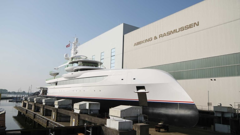 A & R launches 262-foot M/Y Excellence