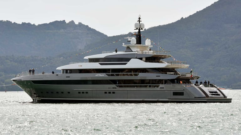 Sanlorenzo Launches Flagship 64Steel Attila