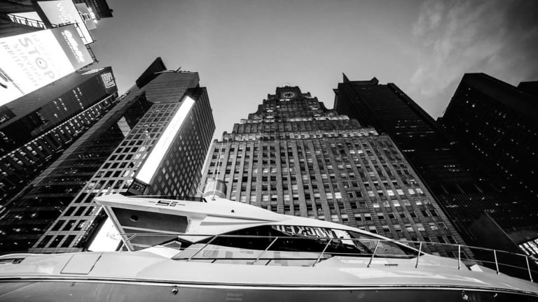 A Boat in Times Square? 