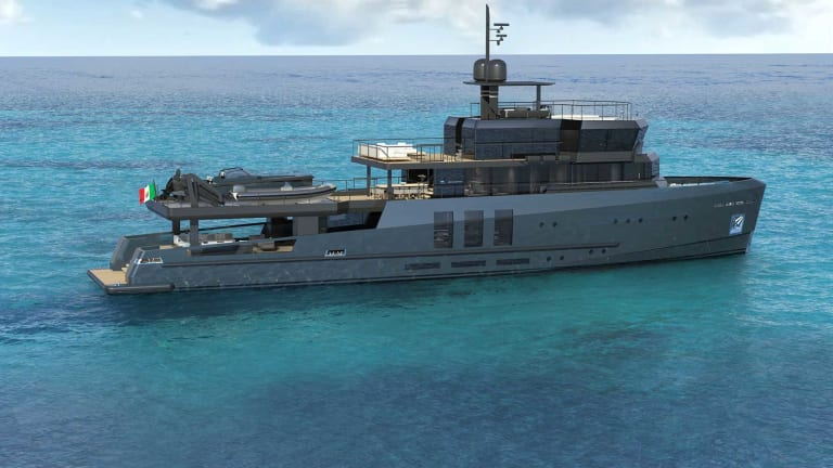 Newly conceived 141-foot (43-meter) Baglietto Explorer Vessel