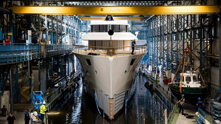 Feadship's new 253-foot (77.25 meter) Project 818 is revealed