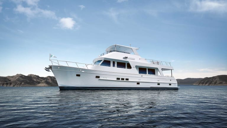Outer Reef 640 'Classic Azure' debuting at Cannes Yachting Festival