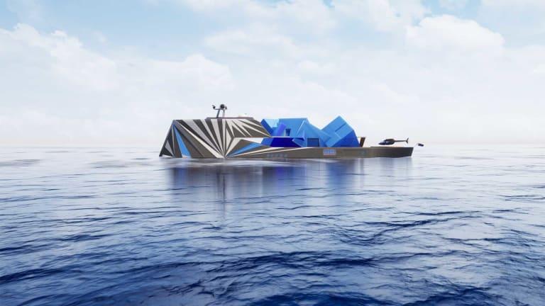 Fata Morgana… an illusion at sea concept design