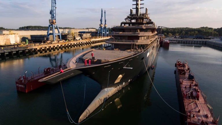 World's largest research and expedition yacht is launched — the 600-foot REV Ocean