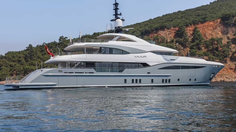 Bilgin Yacht's 156-II, Lilium will debut in upcoming Cannes Yachting Festival and Monaco Yacht Show