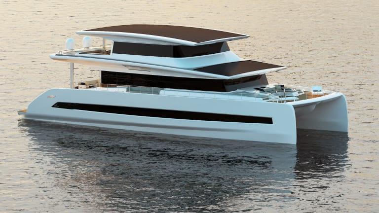 Three new 2020/2021 models of solar electric catamarans