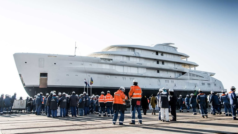 Amels Launches Espen Øino-designed 256-foot/78-meter Superyacht—its Largest To Date by Gross Tonnage