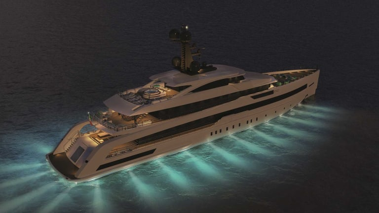 CRN unveils the concept for the new 203-foot /62-meter vessel now under construction