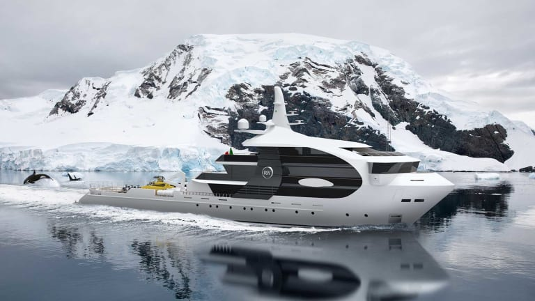 """65m Explorer project """"Orca""""Innovation inspired by nature"""