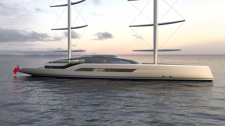 Dixon Yacht Designs game changing – 230ft/ 70m S/Y Project NewDawn