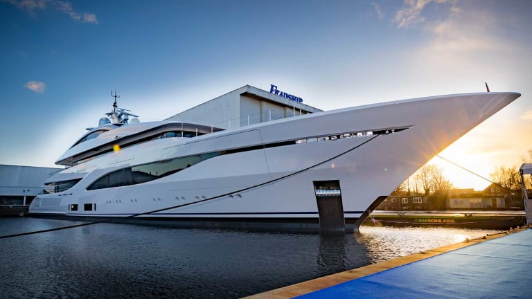 246-foot Feadship Arrow is Christened in the Netherlands