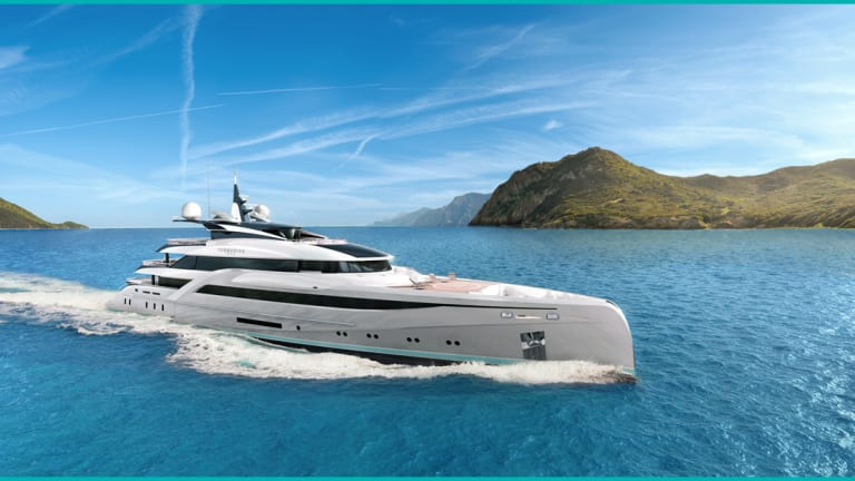 Turquoise Yachts collaborates with Nuvolari Lenard on new 217-foot/ 66-meter Concept