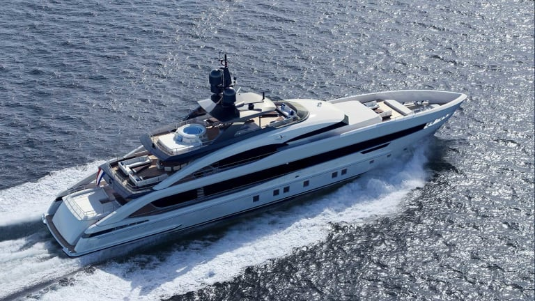 Heesen Launches the 180-foot (55-meter) Steel Class Vida and Reveals a 164-foot (50-meter) all new aluminum yacht—Project Aquamarine