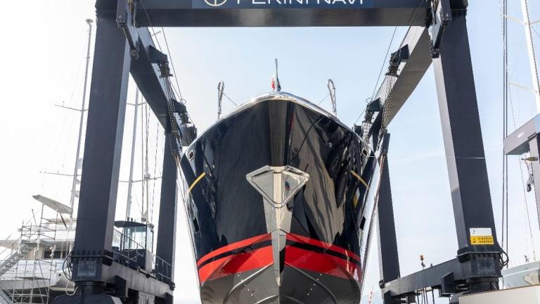 Perini Navi launches new 84-foot (25.5-meter) Eco- tender