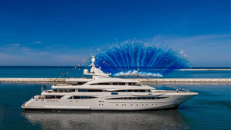 CRN Launches their 259-foot M/Y 135