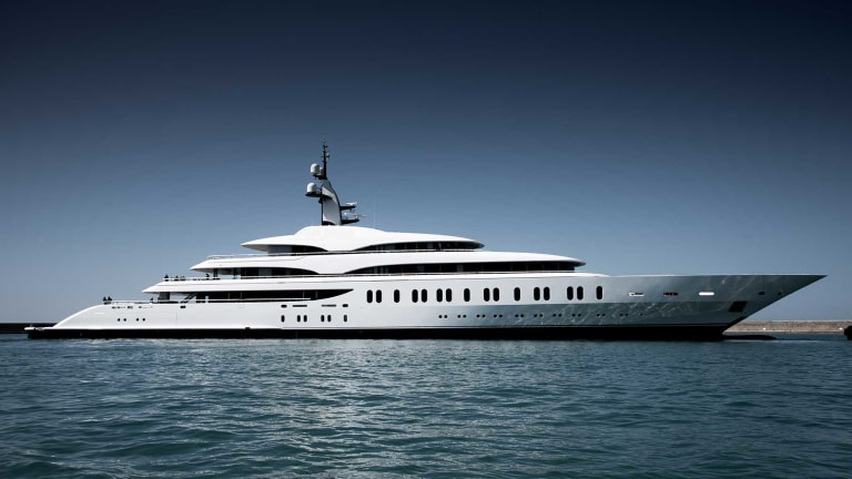 Benetti launches three giga yachts— yachts over 328 feet (100 meters) in length— in only 100 Days