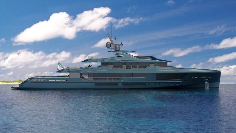 Mondomarine Unveils new DISCOVERY 57 meter (187-footer)