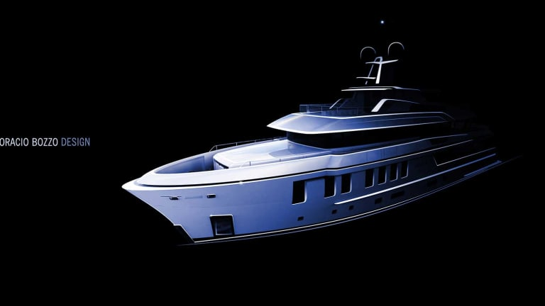 DEEP BLUE 43 in build at Cantiere delle Marche