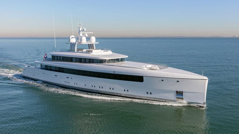 Feadship and Vitruvius Yachts Team up on 190-foot (58-meter) Najiba