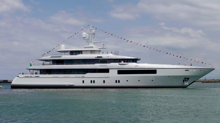 Codecasa Shipyards launched Hull C123— its new CODECASA 55 (180-footer)