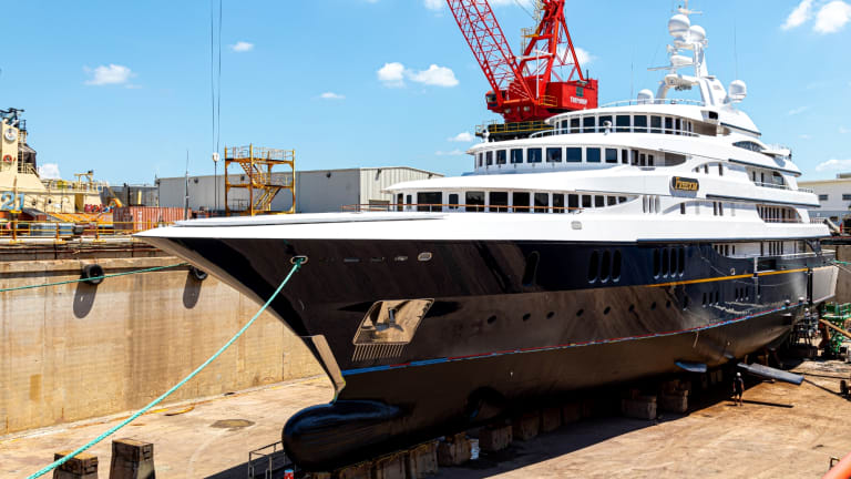 Quantum's 1st Dyna-Foil™ System is employed on refit of 230-foot Benetti M/Y Freedom