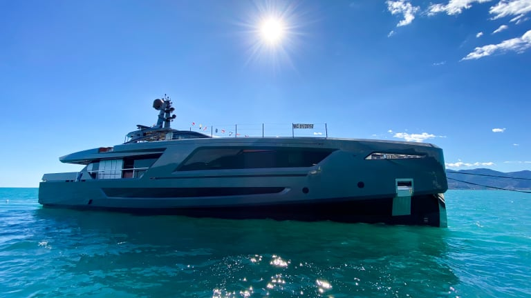 Baglietto launches 131-foot / 40 -meter M/Y Panam designed by Francesco Paszowski
