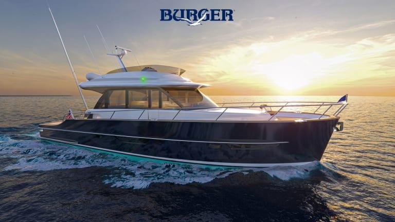 Burger Boat Company Introduces New Burger 63 Sportfishing Motor Yacht Concept