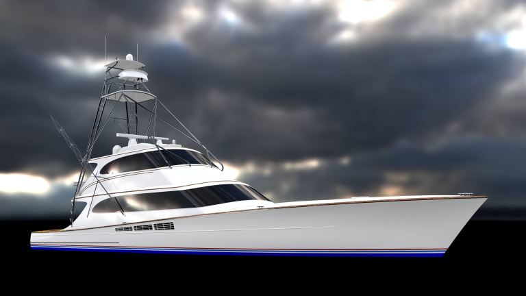Patrick Knowles Designs has created a stunning interior on the new MR & S sportfishing yacht, III Amigos
