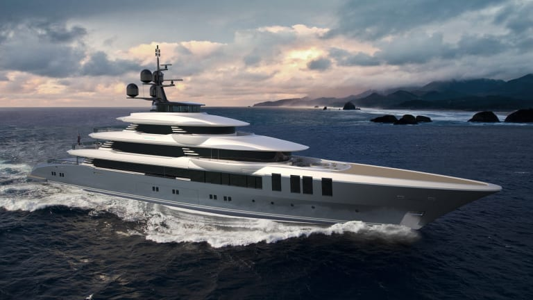 Turquoise Yachts announces the sale of a new 246-foot / 75-meter motoryacht with exterior design by Vallicelli and interior by Sinot Design