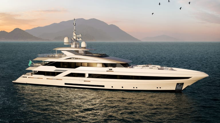 Turquoise Yachts announced the sale of new 174-foot (53-meter) Project Tala